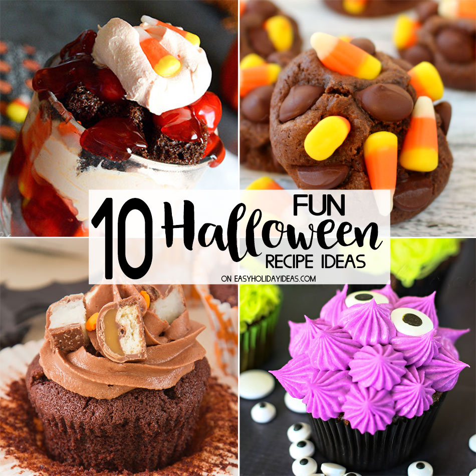 10 fun halloween recipe ideas easy holiday ideas