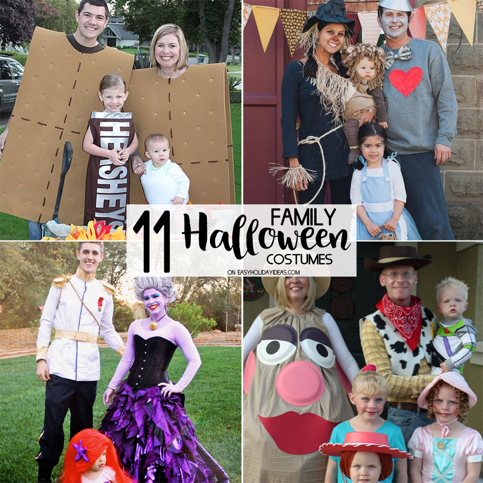family halloween costumes you can make yourself