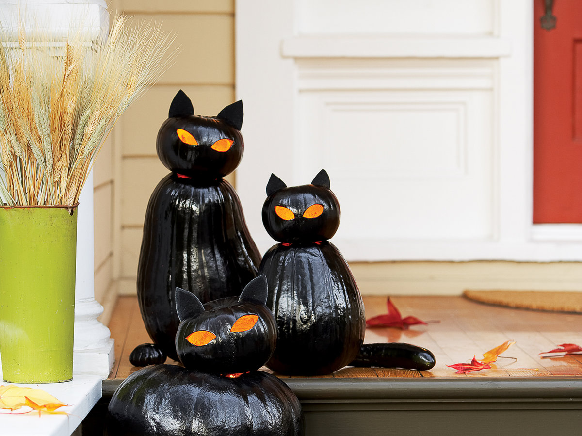 Halloween Front Porch Decor