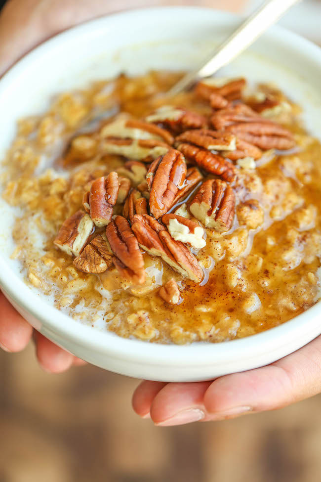 http://damndelicious.net/2015/10/29/pumpkin-pie-oatmeal/