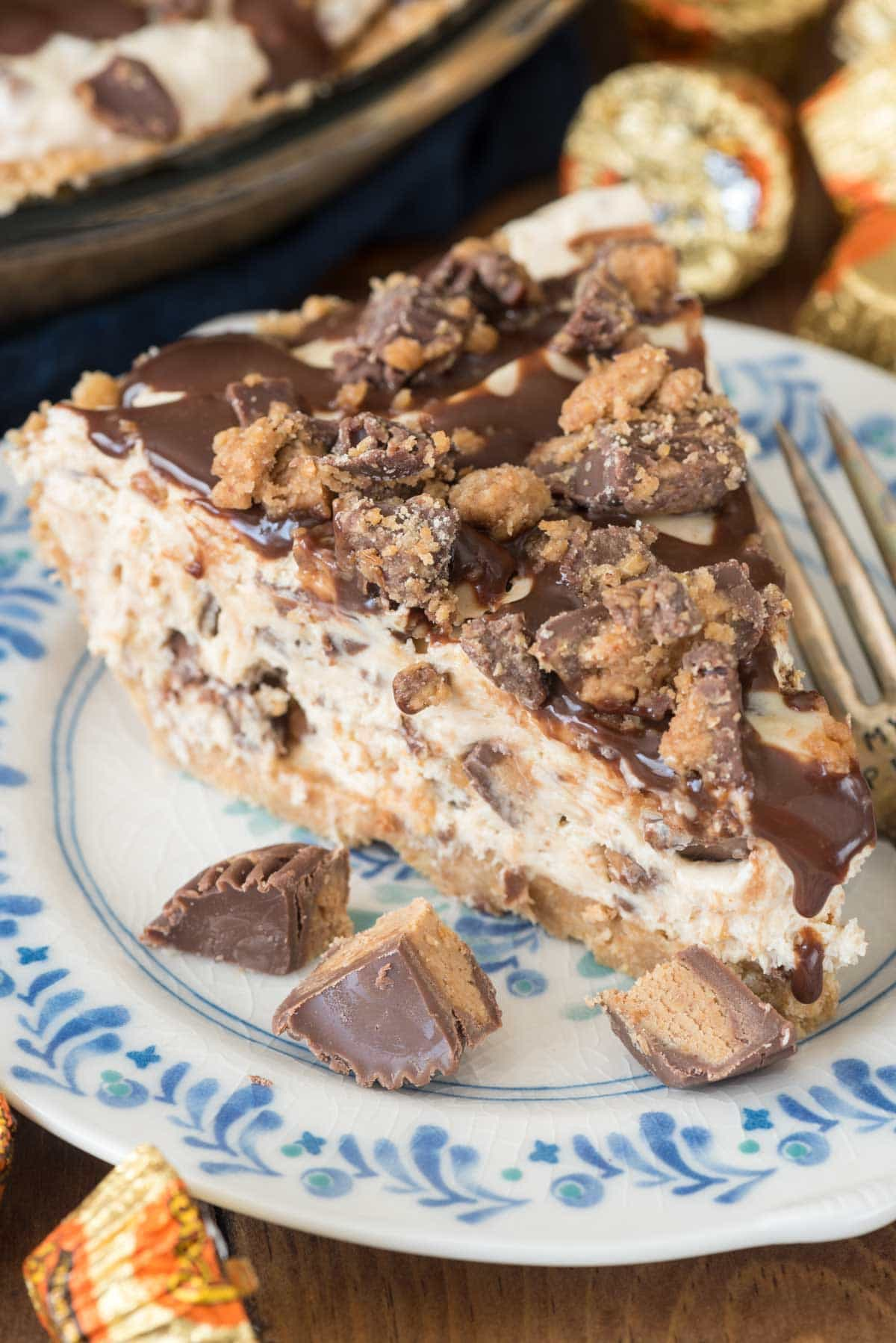 https://www.crazyforcrust.com/no-bake-peanut-butter-cup-pie/