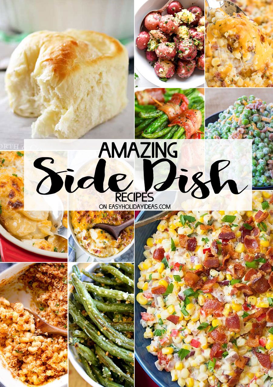 Though the turkey always grabs the spotlight, the right side dishes make your holiday dinner spread especially memorable. Try preparing make-ahead Thanksgiving .