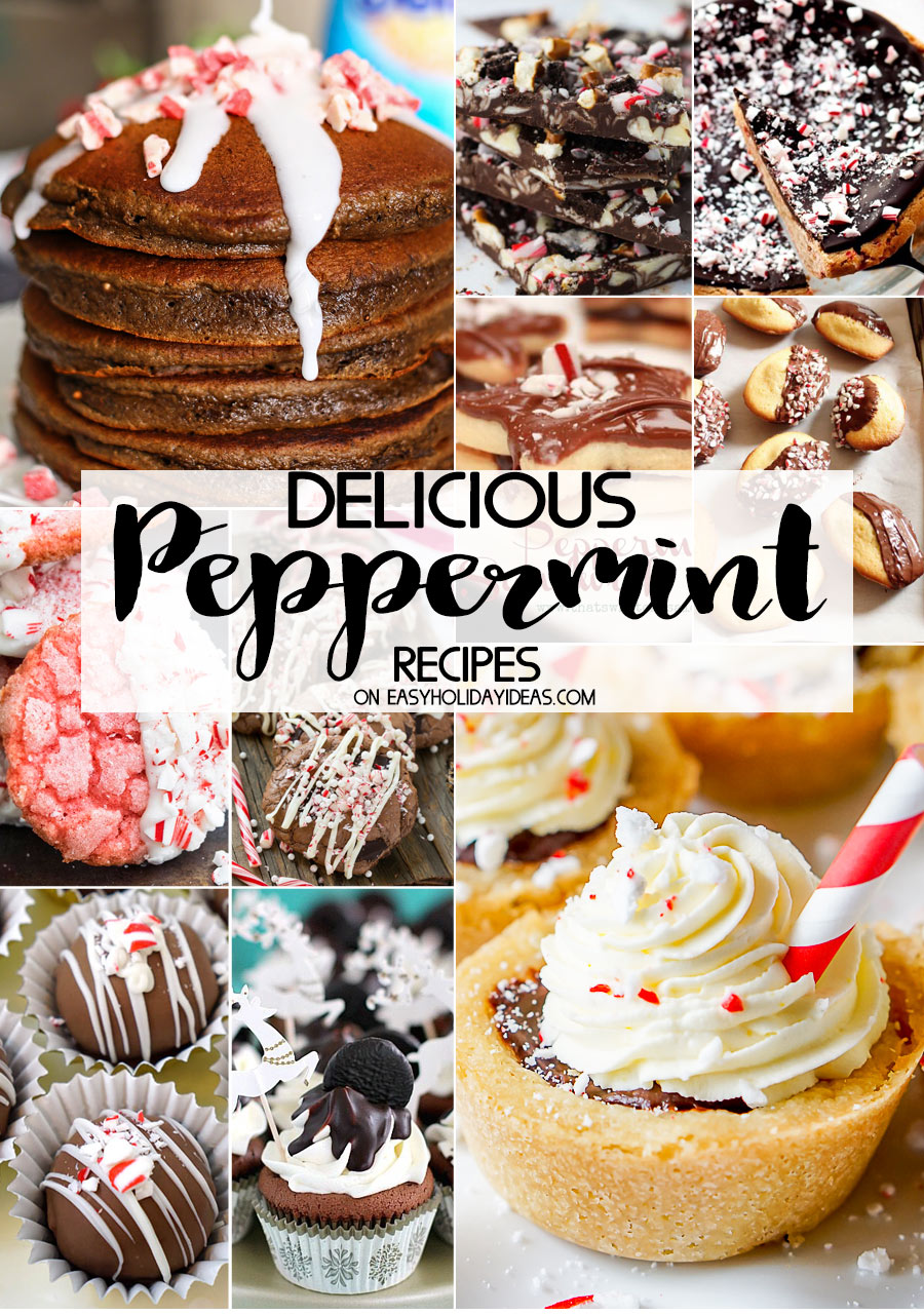 Delicious Peppermint Recipes