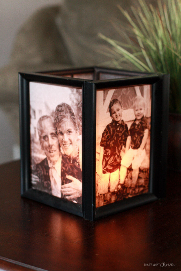 http://www.thatswhatchesaid.net/picture-frame-luminaries/