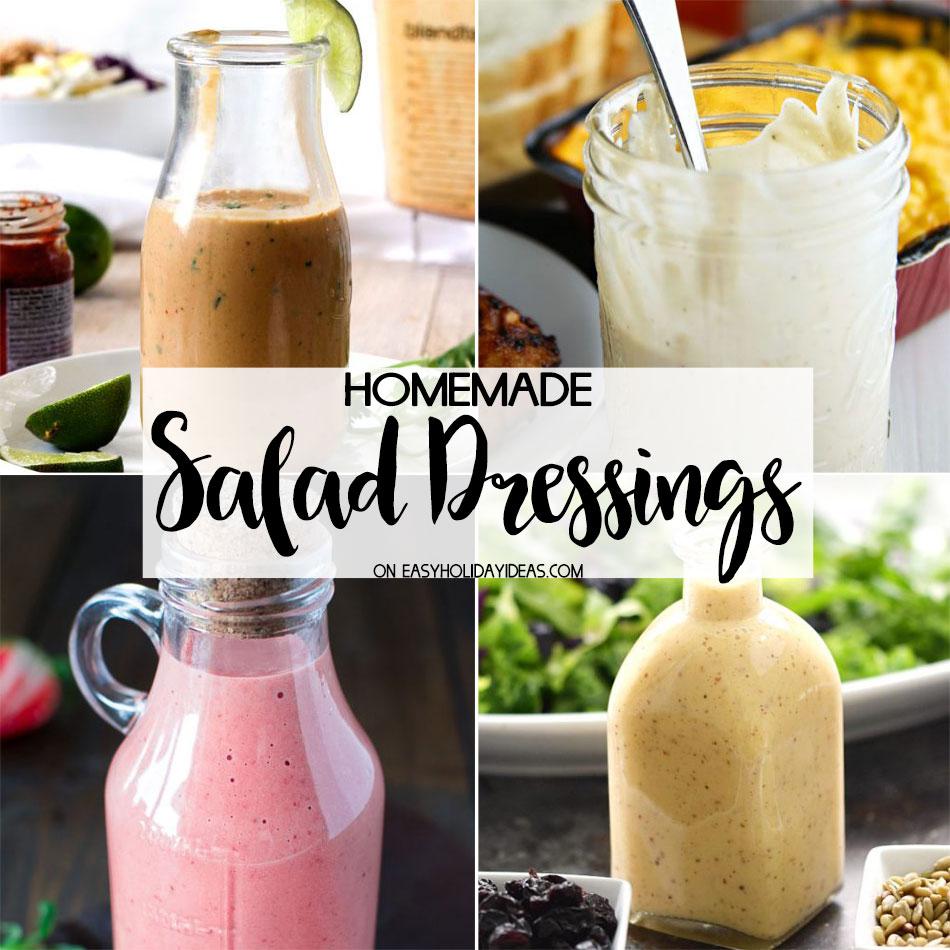 Homemade Salad Dressings