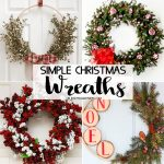 Simple Christmas Wreaths