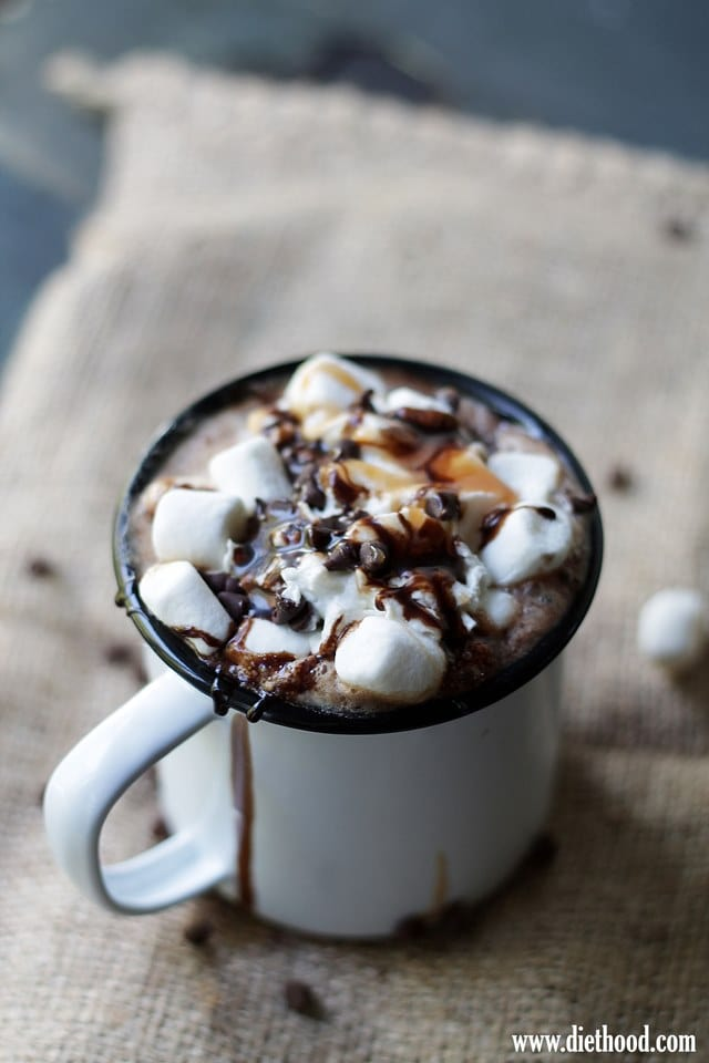 Spicy Hot Chocolate Mocha
