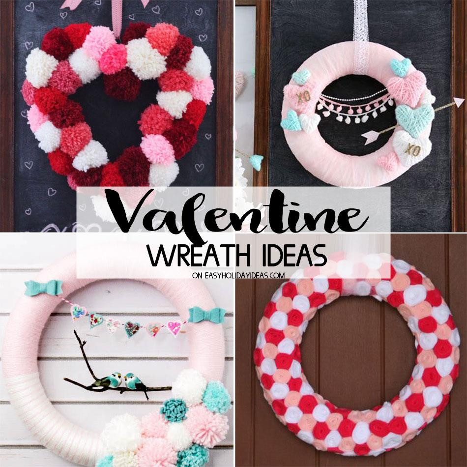 Valentine Wreath Ideas
