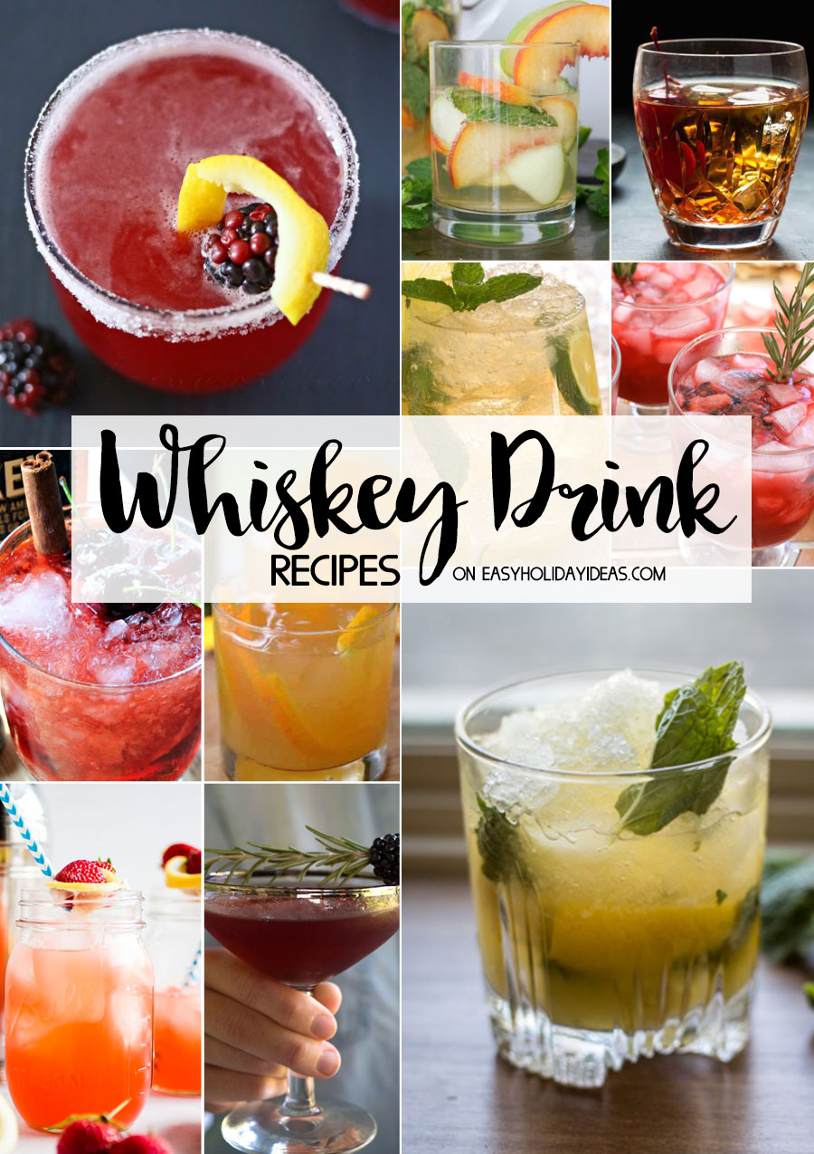 Whiskey Drink Recipes