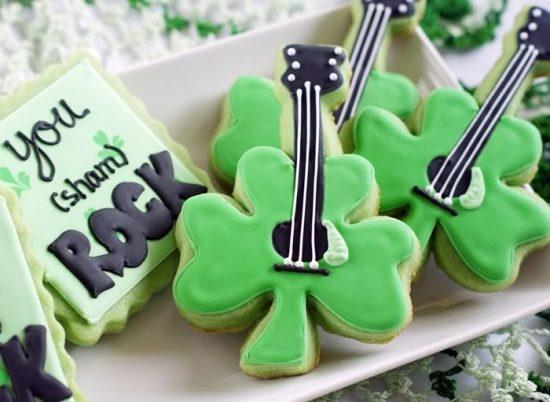 Shamrock Cookies