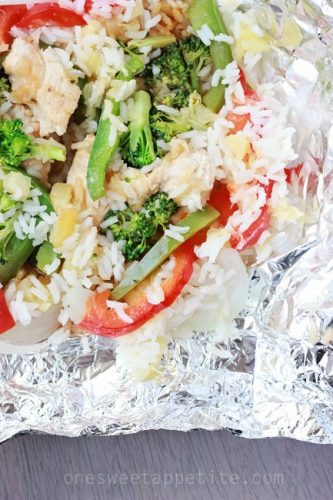 10 Easy Foil Packet Meals that the family will enjoy, and virtually no clean-up!