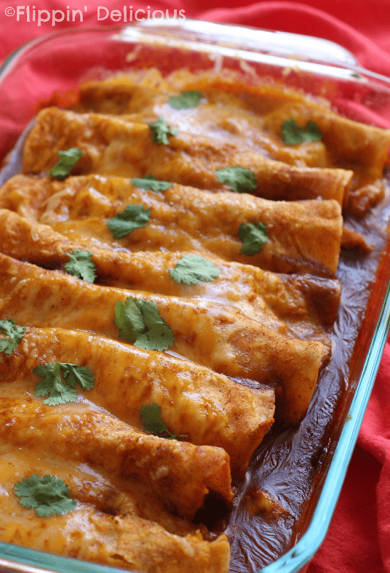 These 10 Minute Gluten Free Enchiladas are my go-to when I need to get dinner on the table quickly. Made in the microwave, they are ready in just minutes.