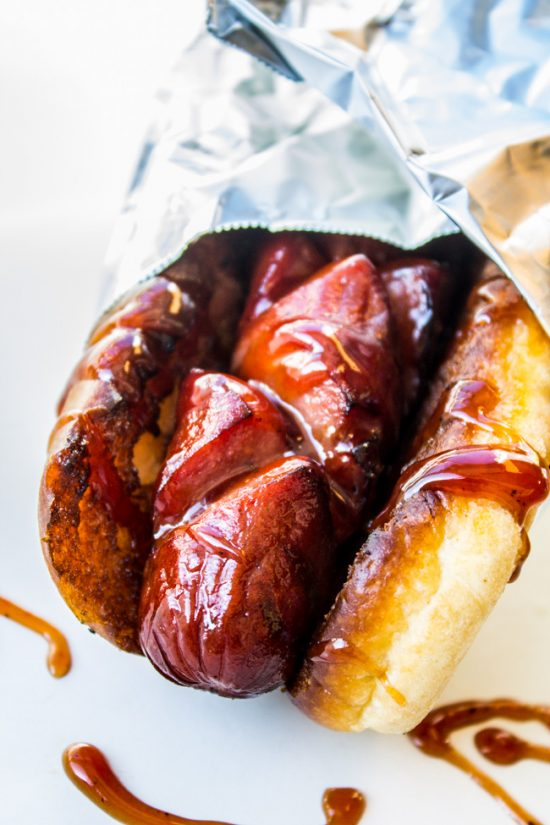 Three things make this The Best Hot Dog You Will Ever Eat: A quality bun, diagonal cuts before grilling, and the Special Sauce. It's so easy, you will be making this all summer! Invite me to your barbecue please!