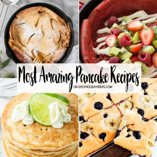 Most Amazing Pancake Recipes