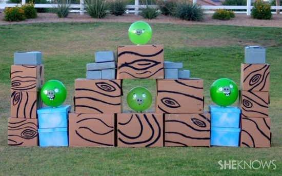 It turns out creating a life-size Angry Birds game is actually easier than you might think. Just try these handy pointers, and you'll be launching those birds before you know it.