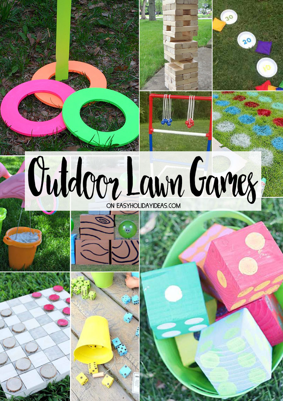 Outdoor Lawn Games Easy Holiday Ideas