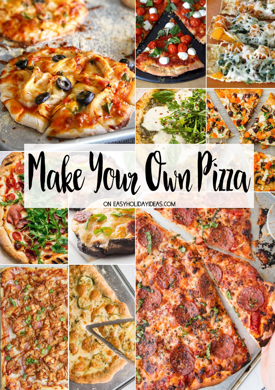 Make Your Own Pizzas