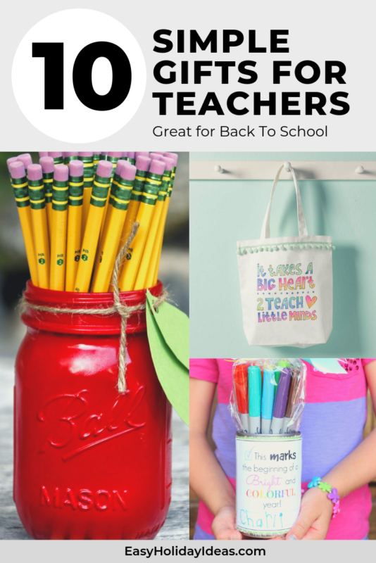 Teacher Gift Ideas for Pinterest