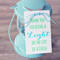 Lantern Teacher Gift Idea