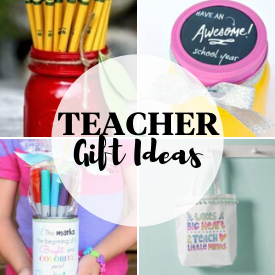 First Day Of School Teacher Gifts