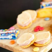 Homemade Lunchables with Ham