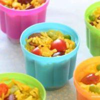 Lunch Box Rice Salad Pots