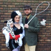 101 Dalmations Family Costume