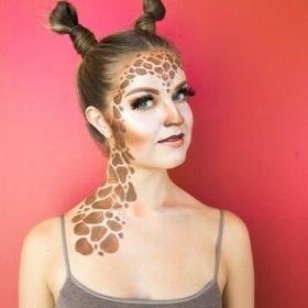 Giraffe Halloween Makeup