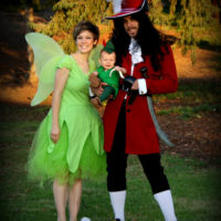 Peter Pan, Tinkerbell and Hook