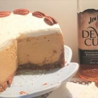 Instant Pot Bourbon Pumpkin Pie Cheesecake