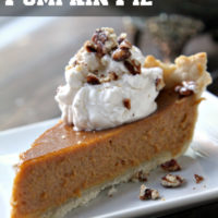Irish Cream Pumpkin Pie