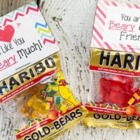 Printable Gummy Bear Valentines