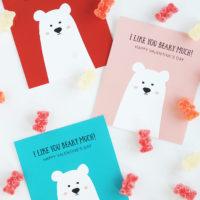 Polar Bear Classroom Valentines