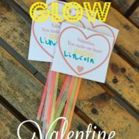 You Make my Heart GLOW – FREE Valentine's Day Printable