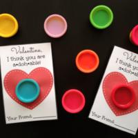 Play-Doh Valentine Free Printable