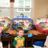 Make Your Own Umbrella Easter Baskets (non candy centered, allergy friendly)