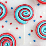 Red White and Blue Desserts - pinwheels