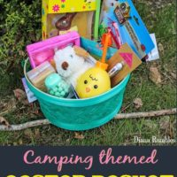 Camping Easter Basket for Kids Who Love to Camp