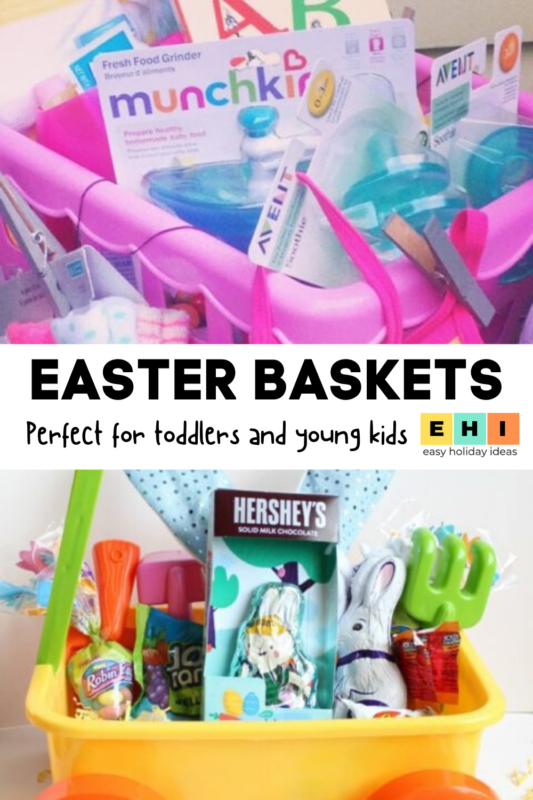 Looking for inexpensive, creative Easter baskets that any toddler would love? Here are creative Easter basket ideas that are great for all toddlers - girls and boys alike!