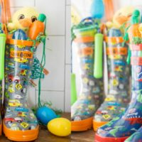 Rain Boot Easter Baskets
