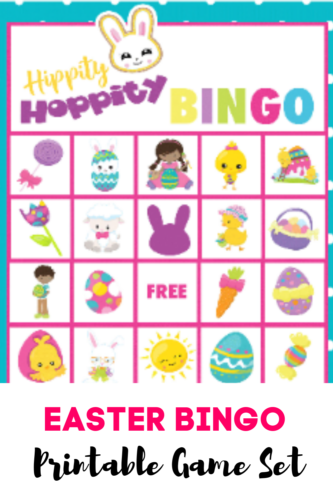 This Easter Bingo Game Card Set is designed to be played with candy or buttons as markers!  Marshmallows are perfect as well!  Imagine keeping the kids playing Bingo at the kids' table before dinner!