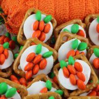 Carrot Pretzel Bites