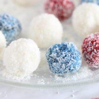 Coconut Snow Ball Bites