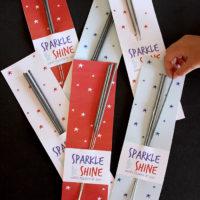 Fourth of July Sparkler printable